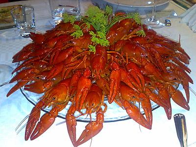 Crayfish before