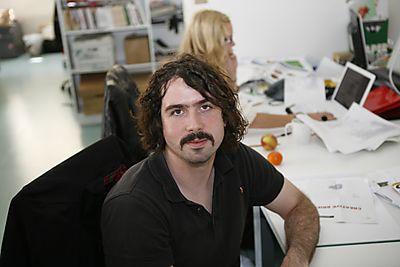 Matt's moustache