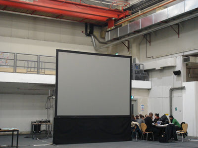4. Big screen