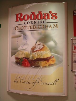 Clotted cream ad
