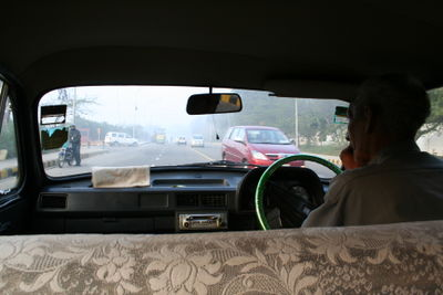 Back of cab