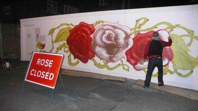 Rose close