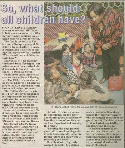 Hackney Gazette 7 May