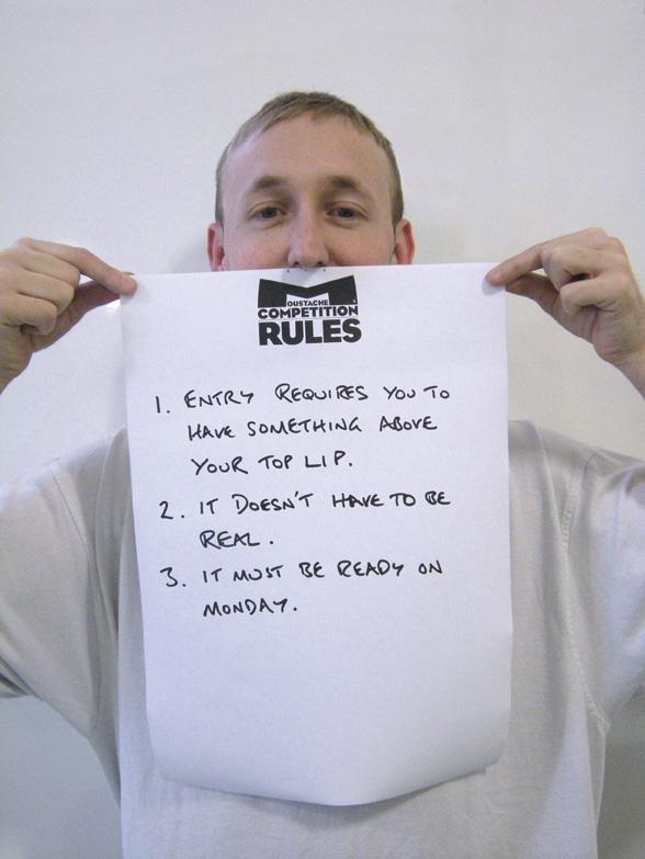 Gav de Beer models the rules