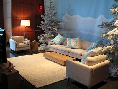 Family home lounge