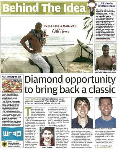 Metro 30 March Old Spice