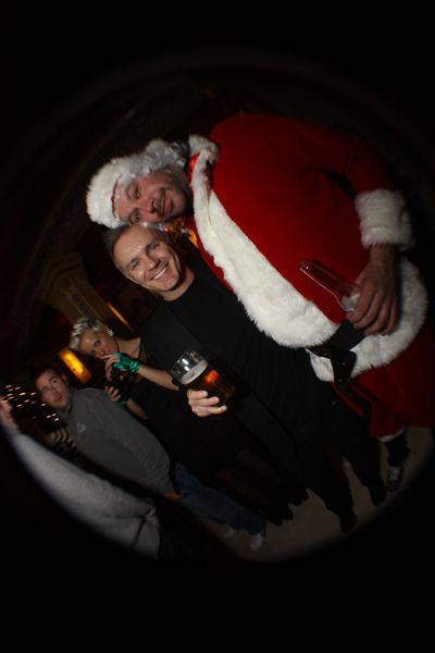 Neil and santa