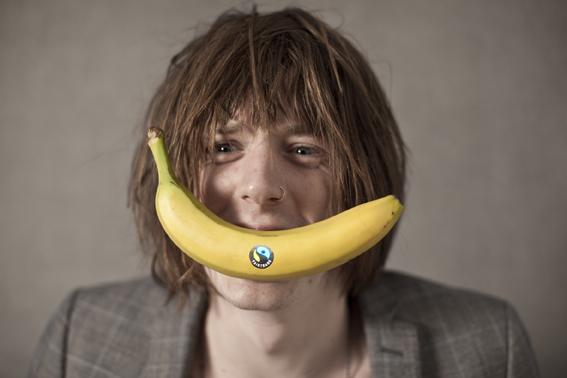 Blaine banana smile