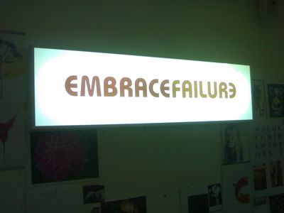 Embracefailure