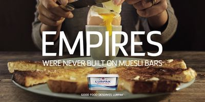 Lurpak Advert Empires