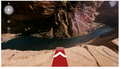 Off grid final cliff screenshot