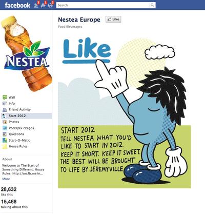 Nestea facebook