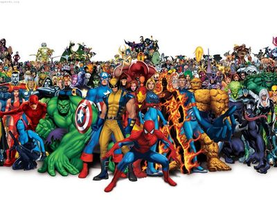 Iron-man-venom-spider-man-captain-america-fantastic-four-wolverine-black-cat-daredevil-marvel-comics-dr-doom-cyclops-anime-2048x2560
