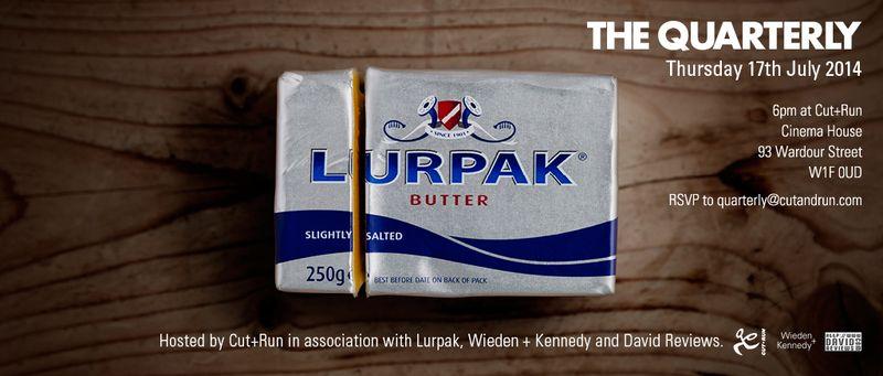 Lurpak Quarterly Invite July 2