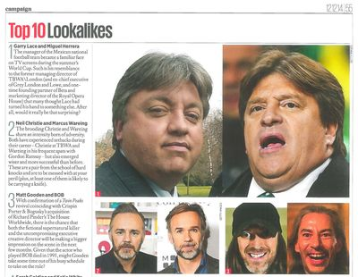 Campaign Annual 2014 Lookalikes