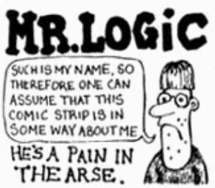 """Image result for """"Mr. Logic"""" Viz"""